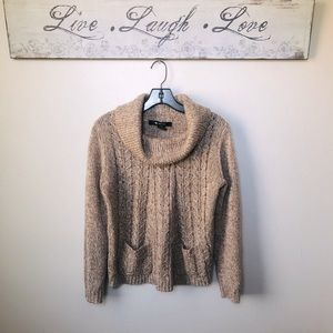 GORGEOUS Knit Cowl Neck Sweater